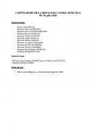 Conseil Municipal – Compte Rendu – 2020-07-10 partie 1 élections sénatoriales