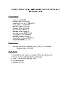 Conseil Municipal – Compte Rendu – 2020-07-10 partie 2 délibérations
