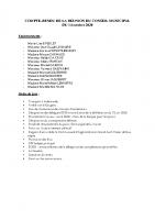Conseil Municipal – Compte Rendu – 2020-10-14