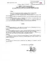 Avis – Arrêté suspension enquête publique