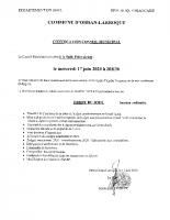 Conseil Municipal – Convocation CM 17-06-2020