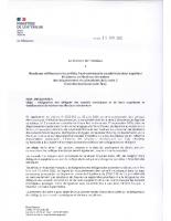 Circulaire ministerielle – Désignation des délégués des conseils municipaux – 30-06-2020