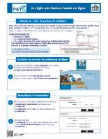 PayFiP – Payer une facture locale en ligne